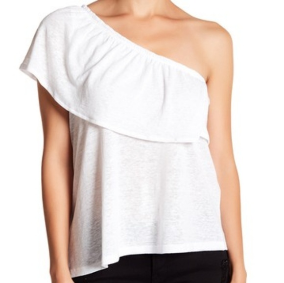 869df7e9ccc Melrose and market ruffle one sleeve top